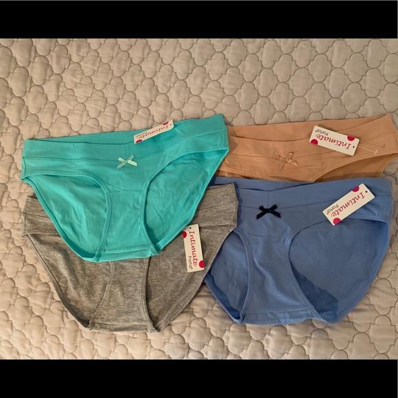 cd077730730c6 Intimate Portal Intimates & Sleepwear | 4 Pairs Maternity Underwear ...